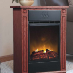End Table Fireplace Heater