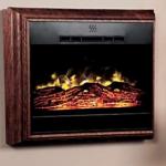wall mount fireplace heater