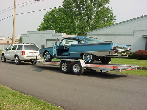 open weld car trailers in ohio