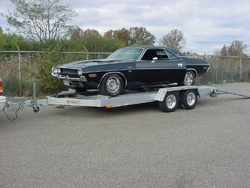 trailer for antique cars