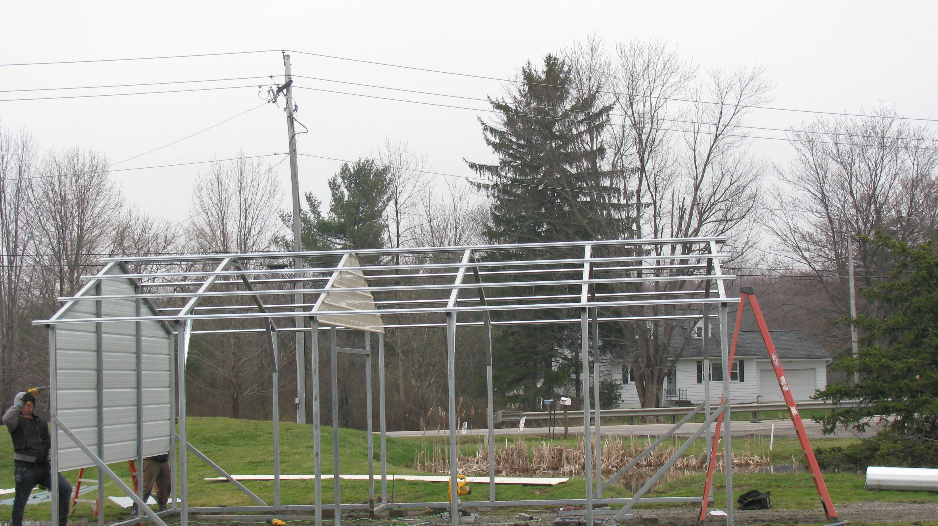 American Steel Carports ⋆ Scheid's Enterprises of Middlefield